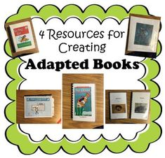 Resources for adapted books