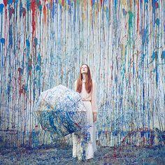 *** | Flickr - Oleg Oprisco It's raining watercolor!!