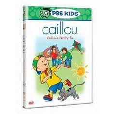 CAILLOU - CAILLOUS FAMILY FUN MOVIE