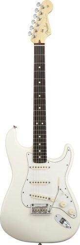 Fender American Standard Stratocaster, Rosewood Fingerboard - Olympic White ** To view further for this item, visit the image link.