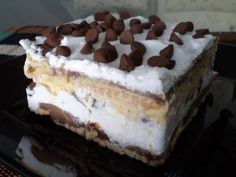 Sobremesa de chocolate e maracujá