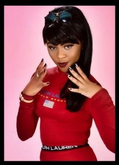 Awww OG Lil Kim. Her original face & parts.