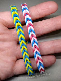 Rainbow Loom Fishtail, Rainbow Loom Bands, Rainbow Loom Charms, Rainbow Loom Bracelets, Rainbow Colors In Order, Fishtail Loom Bracelet, Rainbow Loom Storage, Loom Bands Designs, Plastic Lace