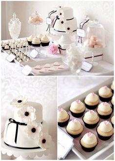 Idea for a Dessert Table