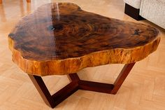 Yggdrasil coffee table by Fábio Portugal