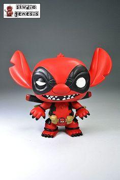 Funko Pop! Deadpool Stitch (Funko Pop!) Custom Action Figure