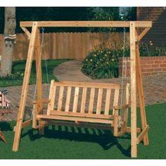 Weatherproof Wood Home Patio Garden Decor Bench Swing Ing Chair
