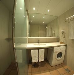 Bathroom with shower apartments persons and apartments persons. Washing Machine, Apartments, Home Appliances, Shower, Bathroom, House Appliances, Rain Shower Heads, Washroom, Bath Room