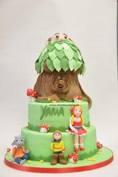 sprookjesboom taart efteling taart
