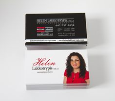 Royal Lepage Real Estate Realtor Business Cards! Design Photography + Print by Sweet Print!