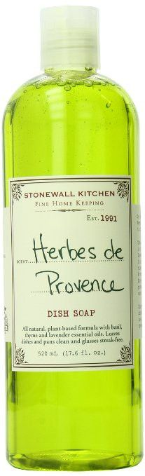 Stonewall Kitchen Herbes de Provence Dish Soap