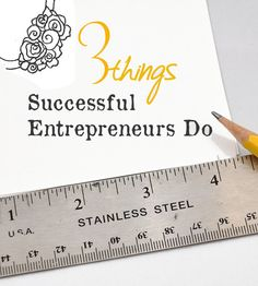 Daft Crafts: 3 Things Successful Entrepreneurs Do