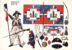 Infanterie de ligne 109e Demi-brigade 1794