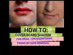 Sexy Crossdresser Gurl: HOW TO Cover 5 O' clock shadow for Drag Crossdresser Transgender Video Makeup Monday