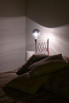 Lampe chevet DIY IKEA nuit #LampDeChevet