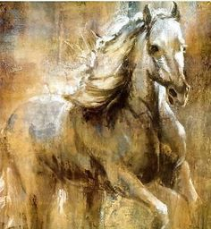 Modern Abstract Art Oil Painting white horse(no framed)-in Painting & Calligraphy from Home & Garden on Aliexpress.com | Alibaba Group