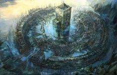 Gorgeous concept art for CD Projekt Red's upcoming... | Cinema Gorgeous