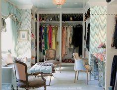 mary mcdonald closet organization  - lonny via simplifiedbee