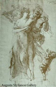 Auguste Rodin Drawings | Pencil Drawing