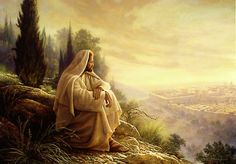 picture of jesus in old jerusalem | Jesus Christ, LDS Church and Religious Graphics and Pictures on Moroni ...