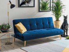 Moritz Velvet este o canapea extensibila ce impresioneaza prin designul elegant si uimeste prin confortul resimtit.  #canapea #albastra #extensibil #catifea #canapeaalbastra #canapeaextensibila #blue #tufted #velvet #couch #velvetsofa #bluecouch #interior #design #ideas Modern Design, Relax, Velvet, Couch, Living Room, Interior, Inspiration, Home Decor, Style