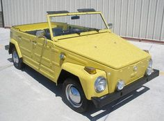 """If I could have any car in the world it would be this!! 1973 Volkswagen """"Thing""""... I love this Thing!"""