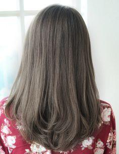7トーングレージュカラー(HY-58) | ヘアカタログ・髪型・ヘアスタイル|AFLOAT(アフロート)表参道・銀座・名古屋の美容室・美容院