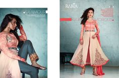 """""""RABIA VOL 4"""" by""""STUDIO LIBAS"""" Luxury Eid Collection Handwork Collection  BRAND RABIA VOL 4  NO. OF PIECES 7  AVERAGE PRICE 1492 RS  CATLOG PRICE 10444 + Shipping  FABRIC"""