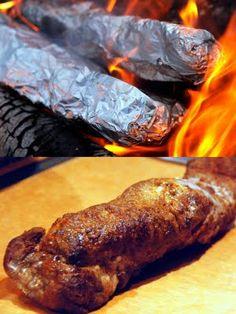 carolynn's recipe box: Campfire Pork Tenderloin