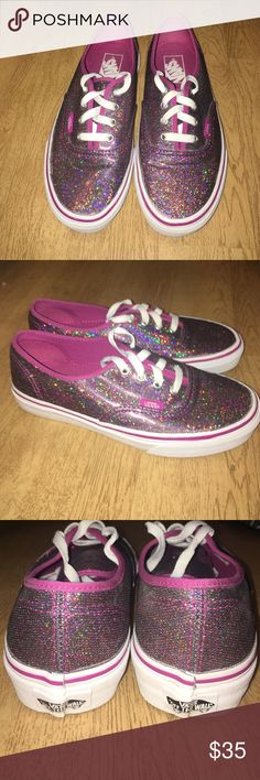 vans womens size 5 in pink used