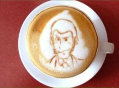 Coffee Latte Art -- Read more details by clicking on the image. Coffee Latte Art, Hot Coffee, Coffee Tasting, Coffee Drinkers, Anime Coffee, Popular Drinks, Discount Coffee, Fair Trade Coffee, Creative Coffee