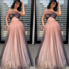 gradient prom dresses long one shoulder simple elegant cheap senior formal dress robe de soiree Cheap Prom Dresses, Formal Dresses, Dress Meaning, Chromatic Aberration, Dress Robes, Make Color, Dress For You, One Shoulder, This Or That Questions
