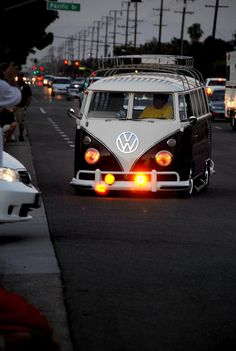 The Volkswagen Type 2,