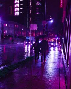 purple rain   Tumblr Violet Aesthetic, Dark Purple Aesthetic, Night Aesthetic, Aesthetic Colors, Aesthetic Photo, Aesthetic Pictures, Purple Wall Art, Purple Walls, Aesthetic Backgrounds