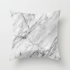 Throw Pillow featuring Marble by Patterns And Textures