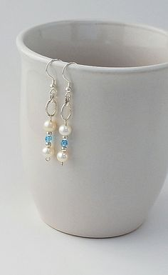 Cultured Freshwater Pearls white potato by DesignsbyDMJewelry