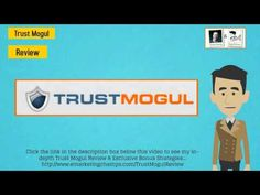 Check out this exclusive review of the Trust Mogul and learn about the advantages and dis-advantages of this product -- Watch this video --- https://www.youtube.com/watch?v=zP7GT0GtXpQ