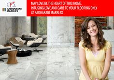 May love be the Heart of this home Infusing love and care to your #flooring only at RadhaRani #Marbles.