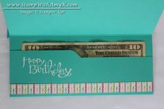 Envelope Punch Board Money Holder Tutorial & New Everyday Occasions Cardmaking Kit | Stamp With Amy K
