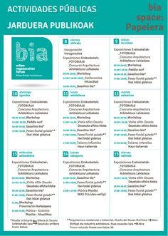 Urban Regeneration Forum, del 8 al 15 de julio en Bilbao