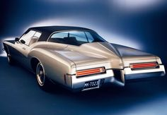 Buick Riviera: Get behind one of these in traffic and you stop thinking about other things.