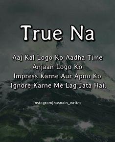 Right True.... A