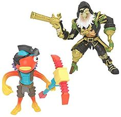 Amazon.com: Fortnite Battle Royale Collection: Fishstick & Blackheart - 2 Pack of Action Figures: Toys & Games Moose Toys, Battle Royale, Ride On Toys, Son Love, Team Leader, Fidget Toys, Godzilla, Kids Playing, Toys