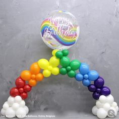 Balloon party decor ideas, images and instructions for balloon arches & columns, organic balloon decor and balloon delivery. Baby Balloon, Balloon Gift, Balloon Arch, Birthday Balloon Decorations, Birthday Balloons, Balloon Display, Rainbow Balloons, Balloon Delivery, Troll Party