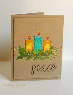 Memory Box Glowing Candles die @http://www.whatshecrafts.com/2014/10/glowing-candles.html