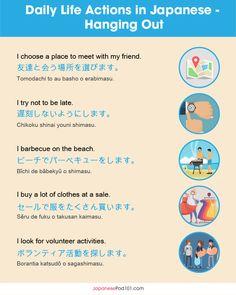 Learn Japanese Beginner, How To Speak Japanese, Learn Japanese Words, Study Japanese, Learn Chinese, Learn Korean, Learning Japanese, Japanese Language Lessons, Japanese Language Proficiency Test