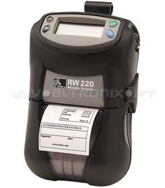 Indicada para aplicações de auto-venda e transportes, incluindo entrega de recibos de pagamento.  A RW220 é uma impressora portátil com capacidade para imprimir até 56mm de largura. O seu design permite aos utilizadores escolherem entre as opções sem fio e cartões de leitura.