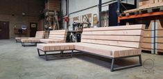 Mooie loungeset voor buiten | Meubelmakerij | Houtkwadraat | Stoer spul Porch Swing, Outdoor Furniture, Outdoor Decor, Bench, Woodworking, Product Ideas, Wood Work, Home Decor, Outdoors