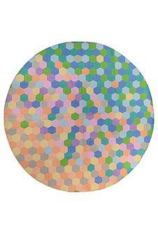 Dhurrie Round designer series - Candycomb