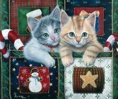 CHRISTMAS KITTENS BY JENNY NEWLAND